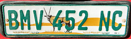 South Africa Northern Cape normal series close-up BMV 452 NC.jpg (34 kB)