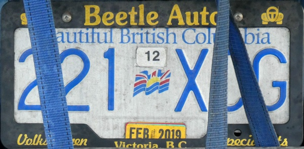 Canada British Columbia former normal series close-up rear plate 221 XCG.jpg (129 kB)