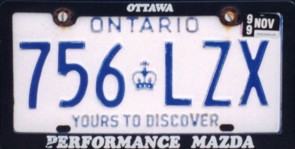 Canada Ontario former normal series close-up 756 LZX.jpg (66 kB)