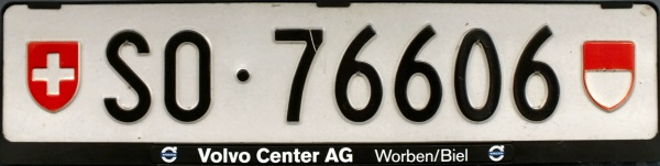 Switzerland normal series rear plate close-up SO·76606.jpg (43 kB)