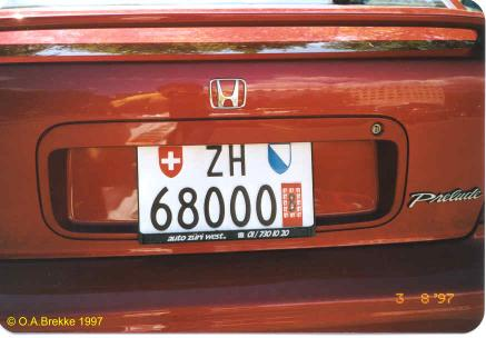 Switzerland temporary series rear plate ZH 68000.jpg (23 kB)