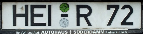 Germany normal series former style close-up HEI-R 72.jpg (42 kB)