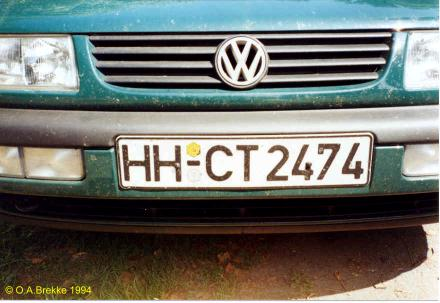 Germany normal series former style HH-CT 2474.jpg (28 kB)
