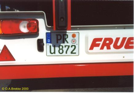 Germany road tax free series PR U 872.jpg (18 kB)
