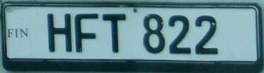Finland unofficial replacement plate close-up HFT 822.jpg (17 kB)