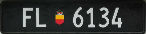 Liechtenstein normal series rear plate FL 6134.jpg (54 kB)