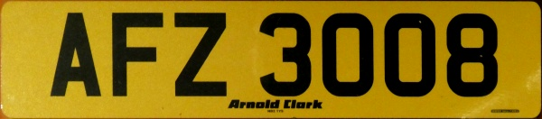 Northern Ireland normal series rear plate close-up AFZ 3008.jpg (65 kB)