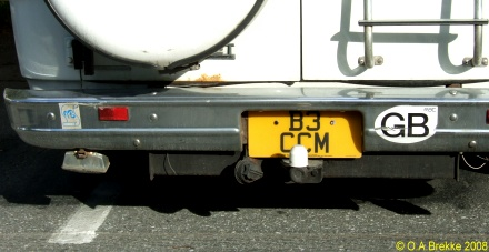 Great Britain former personalised series rear plate American size B3 CCM.jpg (49 kB)