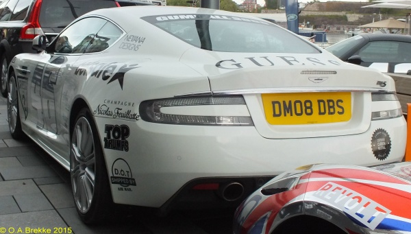 Great Britain personalised series rear plate DM08 DBS.jpg (91 kB)