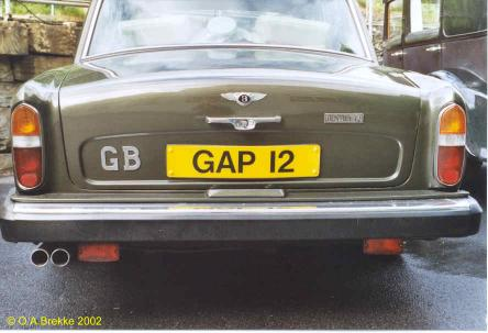 Great Britain former normal series remade as cherished number GAP 12.jpg (25 kB)