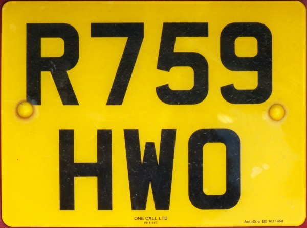 Great Britain former normal series rear plate close-up R759 HWO.jpg (88 kB)