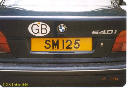 Great Britain former normal series remade as cherished number SM 125.jpg (20 kB)