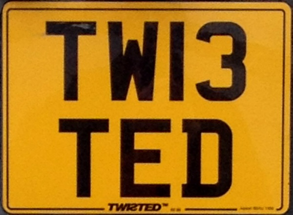 Great Britain personalised series rear plate close-up TW13 TED.jpg (82 kB)