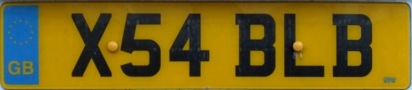Great Britain former normal series rear plate close-up X54 BLB.jpg (34 kB)