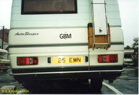 Isle of Man former normal series rear plate reissued 25 EMN.jpg (22 kB)