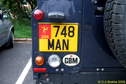 Isle of Man former normal series rear plate reissued 748 MAN.jpg (76 kB)