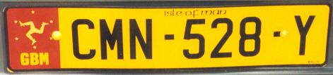 Isle of Man normal series rear plate close-up CMN-528-Y.jpg (12 kB)