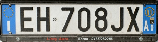 Italy normal series rear plate close-up EH 708 JX.jpg (51 kB)