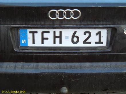 Maltese Registration Plates