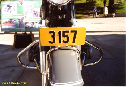 Norway military series former style motorcycle front plate 3157.jpg (25 kB)
