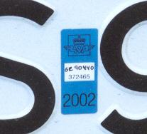 Norway normal series former style close-up of validation sticker SR 90440.jpg (8 kB)