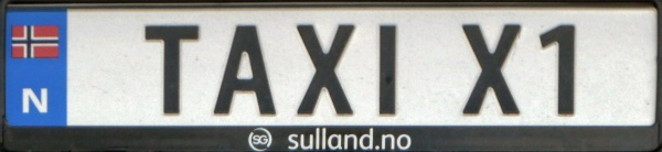 Norway personalized series TAXI X1.jpg (62 kB)