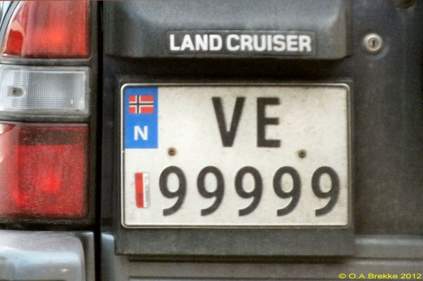 Norway normal series former style VE 99999.jpg (95 kB)