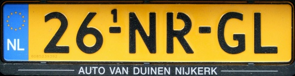 Netherlands replacement plate former normal series close-up 26-NR-GL.jpg (53 kB)