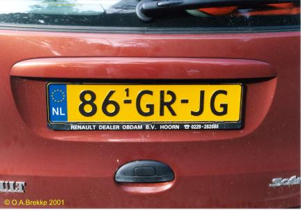 Netherlands replacement plate former normal series 86-GR-JG.jpg (23 kB)