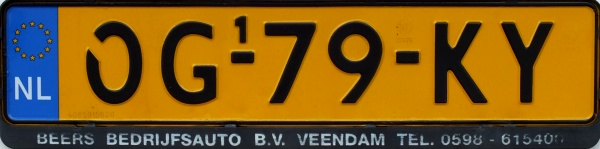 Netherlands replacement plate semi-trailer series close-up OG-79-KY.jpg (45 kB)