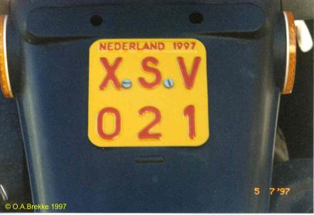 Netherlands moped series 1997 issue XSV 021.jpg (19 kB)