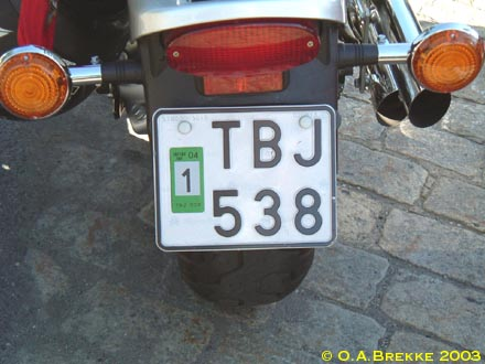 Sweden normal series motorcycle former style TBJ 538.jpg (32 kB)