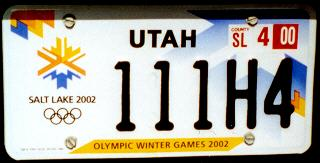 USA Utah optional Olympic Winter Games 2002 passenger series close-up 111H4.jpg (13 kB)