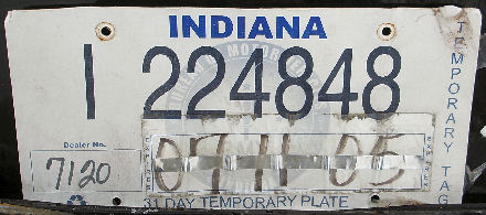USA Indiana 31 day temporary plate I 224848.jpg (64 kB)